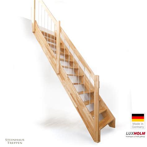 holztreppe gerade holztreppe buche mit gel 228 nder atrium treppenbreite 85 cm