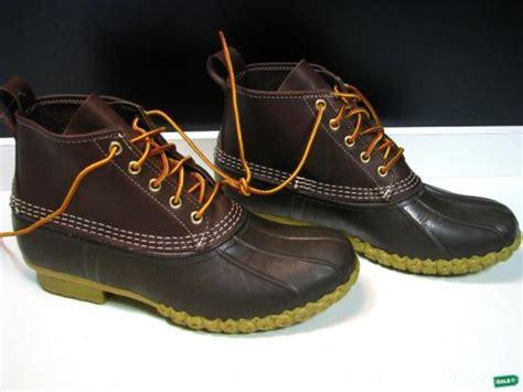 6 inch bean boots ll bean 6 inch brown leather brown bean boots mens 9