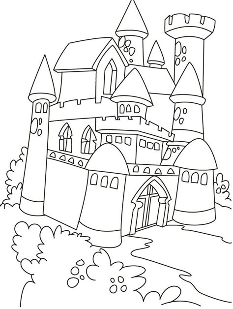 coloring pictures of knights and castles knights and castles for kids az coloring pages