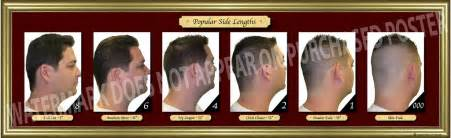 hairstyles numbers new haircut poster barber barbershop beauty salon hair cut