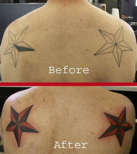tattoo cover up nautical star tattoo gallery by hazel underwood tattoo compi