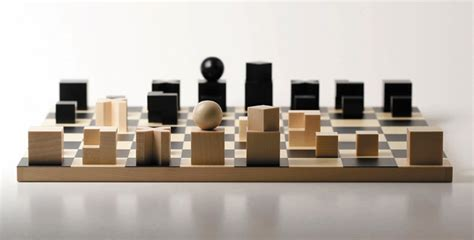 minimalist chess set 30 unique home chess sets