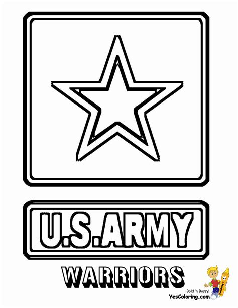 Army Logo Coloring Pages | us army logo coloring pages sketch coloring page