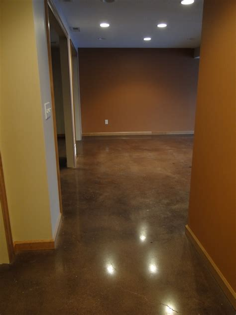 25 best ideas about concrete basement floors on