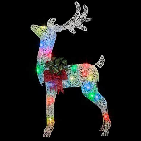 applights 49 41 in lighted crystal swirl buck yard