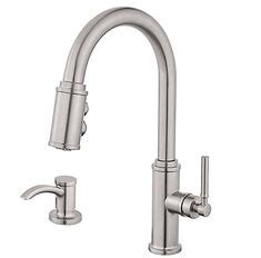 lima pulldown kitchen faucet pfister faucets win