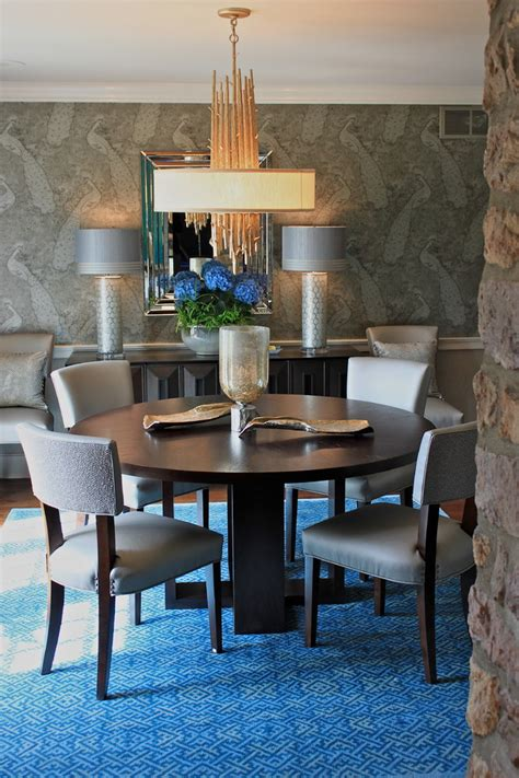 Peacock Dining Room Ideas by Spectacular Peacock Wallpaper Decorating Ideas