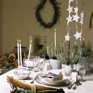 Dining Table Centerpieces Uk White Themed Table Traditional