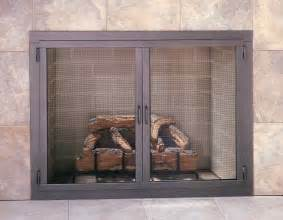 fireplace doors design specialties carolina mesh door