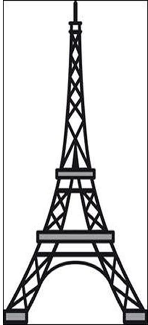 eiffel tower template 17 best ideas about eiffel tower drawing on