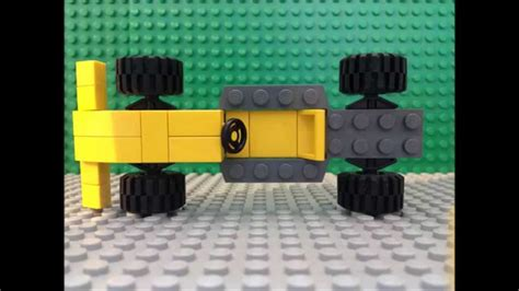 lego tutorial easy how to make a lego f1 car easy tutorial moc youtube