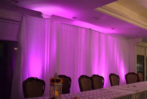 Wedding Backdrop Calgary by Uplighting Backdrop Monograms Calgary Audio Visual And