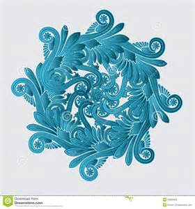 decorative flourish design royalty free stock photo