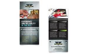 rack card template locksmith rack card template design