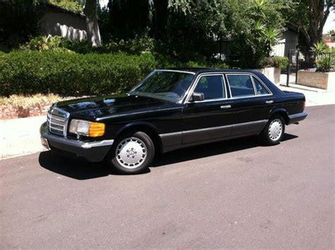 1989 Mercedes 560sel by Find Used 1989 Mercedes 560sel Base Sedan 4 Door 5 6l