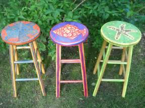 Tiki Hut Bar Stools Triyae Outdoor Tiki Bar Stools Various Design