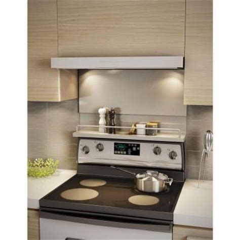 inoxia mercury 30 in x 32 in stainless steel backsplash