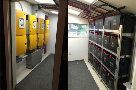 smart home s solar farm stores excess energy in a battery