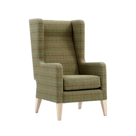 High Back Armchair by Jilly High Back Armchair Knightsbridge Furniture