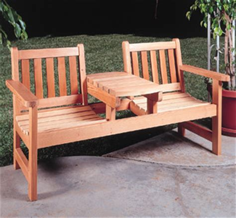 two seater bench with table all yard garden projects room for two with table