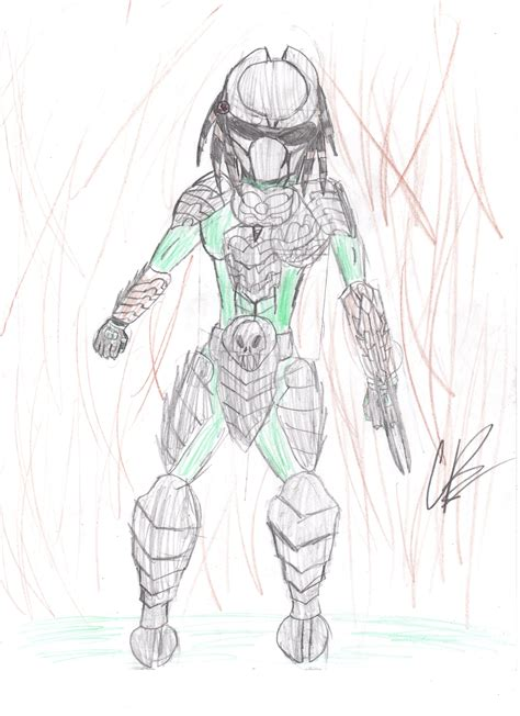 How To Draw Predator From Aliens Vs Predators Drawing