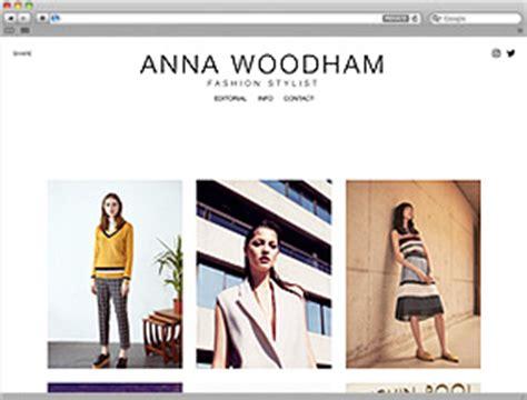 Template Portfolios Template Portfolio Websites For Photographers Fashion Stylists Makeup Fashion Stylist Website Templates