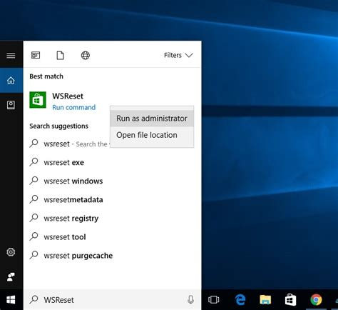 resetting windows store how to fix windows store cache may be damaged on windows 10