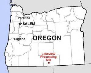 map of lakeview oregon lakeview gcap acceptance department of energy