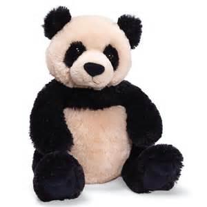 zi bo panda small 12 stuffed animal by gund 320707 ebay