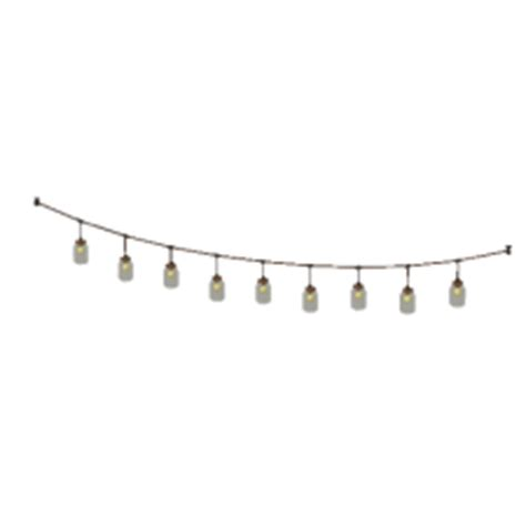Mason Jar Patio Lights Outdoor String Lights Png Images Pixelmari Com