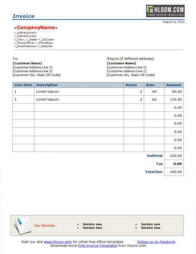 software development invoice template invoice software development software development invoice