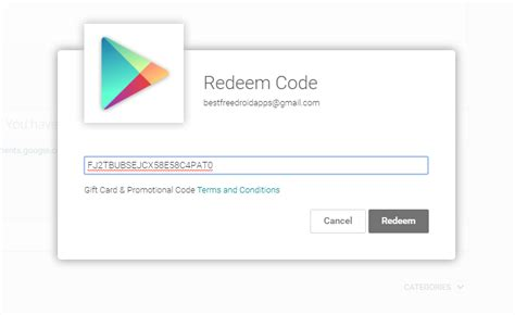 What Play Store Redeem Code Free Play Redeem Codes List For Apps Updated Daily
