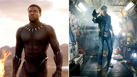 Ready Black from black panther to ready player one