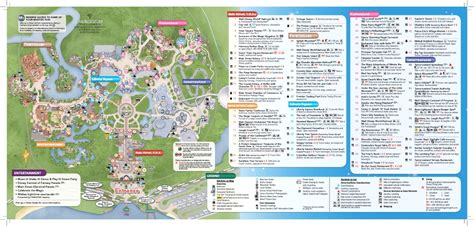 map of usa showing disney world wdwthemeparks news new magic kingdom park map