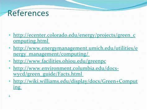 Green Computing Research Project Essays by Green Computing