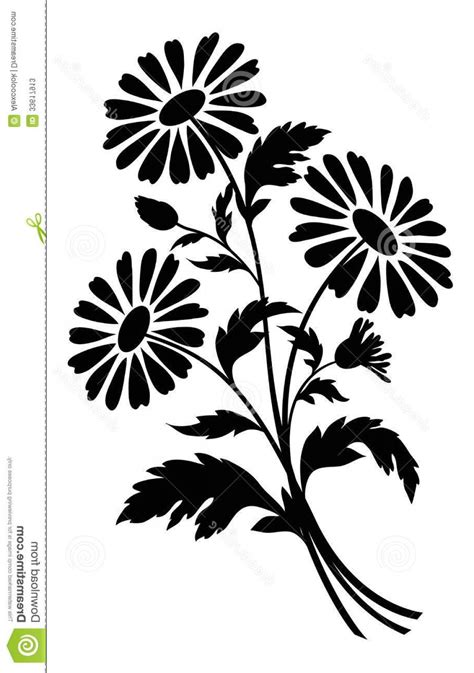 black and white flower clip black and white flower clip vector lazttweet