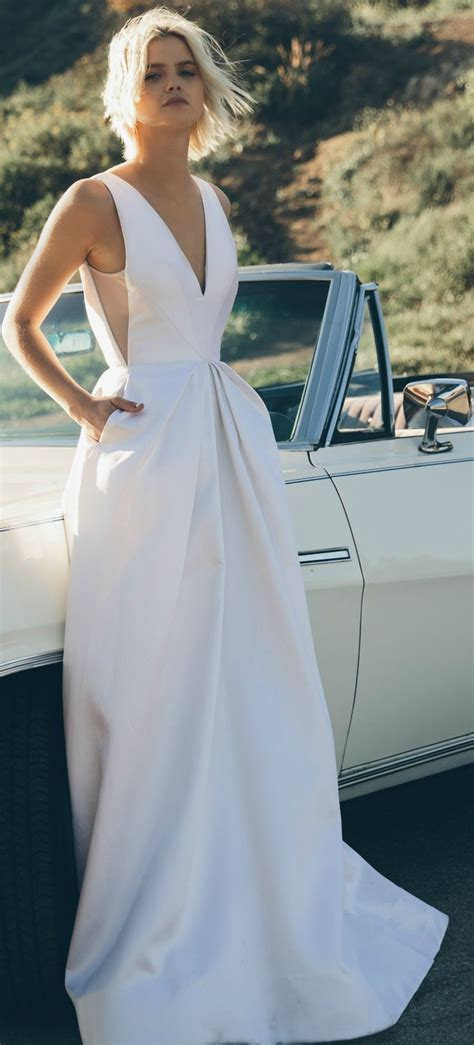 25  best ideas about Silk wedding dresses on Pinterest