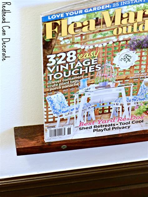 Small Magazine Rack For Bathroom by Diy Magazine Rack Can Decorate