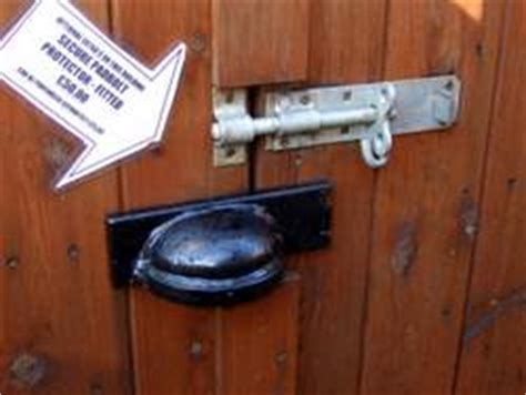 Shed Lock Types by Choose A Shed Door Lock To Keep Your Shed Secure