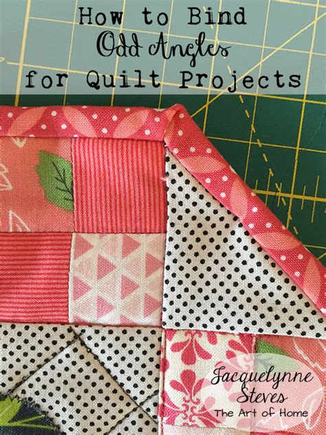 How To Bind A Quilt Corner by Binding Angles Tutorial Jacquelynne Steves