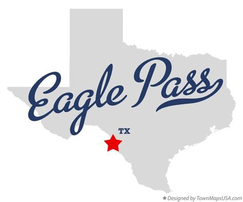 where is eagle pass texas on a map map of eagle pass tx texas