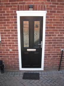 square glass door solidor ludlow in black with trio square glass and brushed