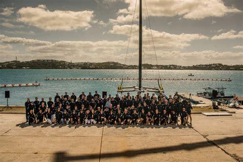 artemis racing boat artemis racing launches its ac race boat bernews