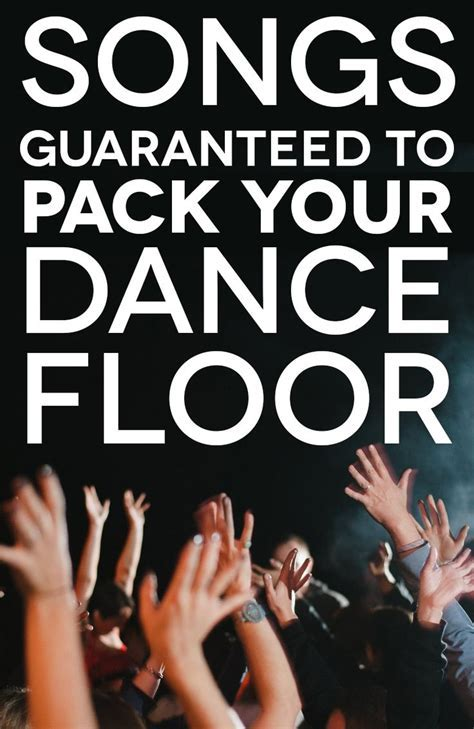 75  Of The Best Wedding Dance Songs To Pack The Dance