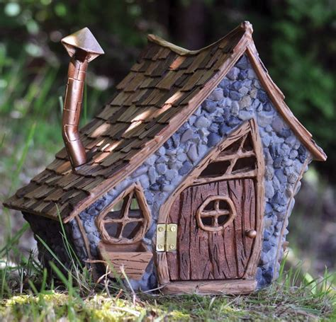 buy a fairy house shingletown large pitched roof fairy house door opens and closes
