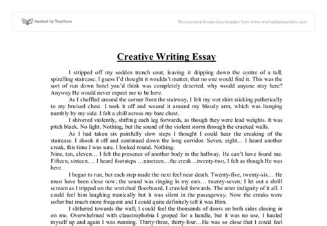 Creative Essays by Free Exles Of Creative Writing Essays Free Essays Term Papers Research Paper Book Reports