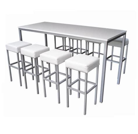 High Dining Tables Concept Furniture Hire Corrine High Dining Table Hire