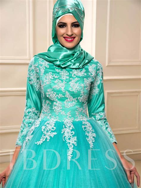 appliques for wedding dresses appliques ball gown muslim wedding dress with hijab