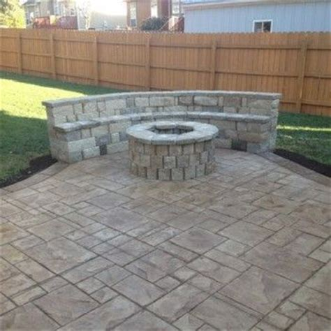 backyard concrete cost best 25 concrete patio cost ideas on pinterest