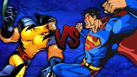 imagenes de wolverine vs superman who wins superman vs wolverine youtube